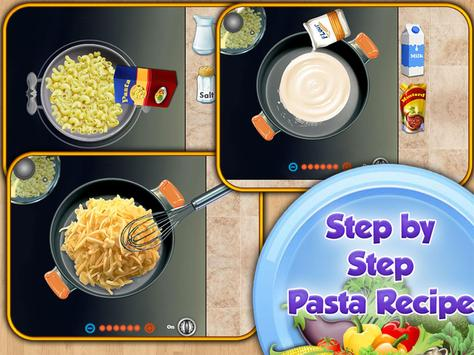 Pasta Maker Cooking Restaurant apk screenshot