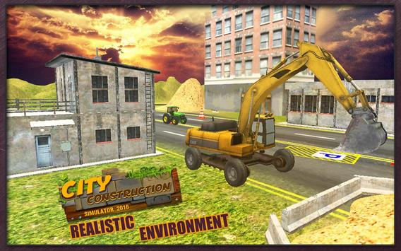 Excavator Simulator City Build apk screenshot
