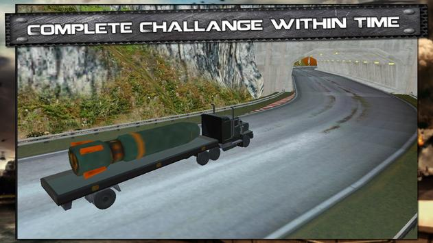 Army Truck Cargo Simulator 3D poster
