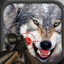Ultimate Snow Wolf Hunter: Atirador de combate mo APK