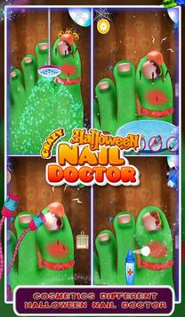 Crazy Halloween Nail Doctor screenshot 2