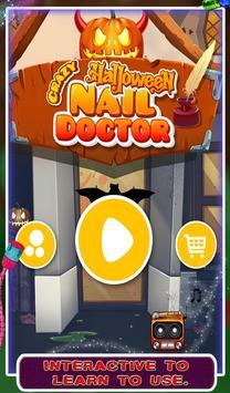 Crazy Halloween Nail Doctor screenshot 6