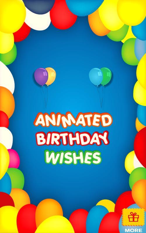 Animated Birthday Emoji Poster
