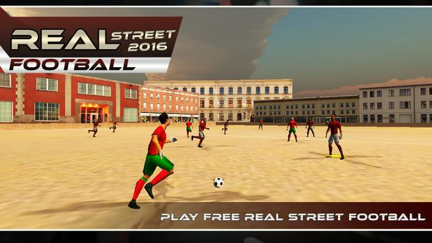 Street Football World Cup 2016 poster