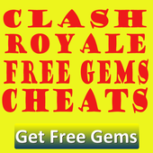 Free Gems Clash Royale Cheats icon