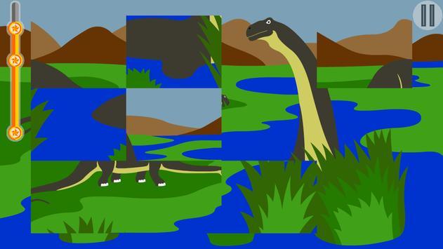 Dino puzzle apk screenshot
