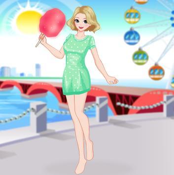 لعبة بائع غزل شعر البنات في الملاهي screenshot 1