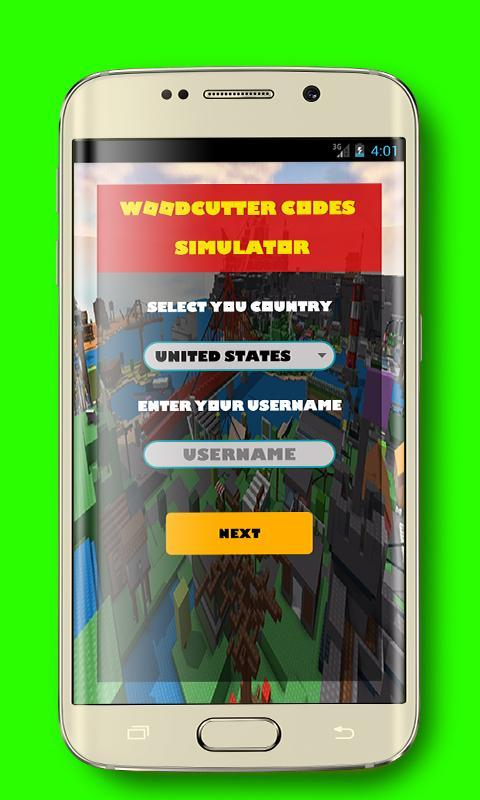 Free Codes For Roblox Woodcutter Simulator For Android Apk Download