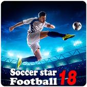 Soccer star - Football icon