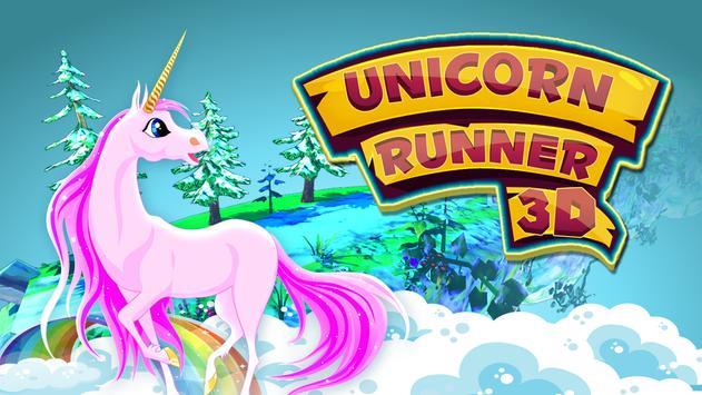 Unicorn Runner 3D poster