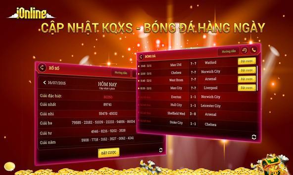 Game danh bai iOnline 2016 apk screenshot