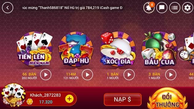 Game Danh Bai Doi Thuong - Doi The XGame ảnh chụp màn hình 4