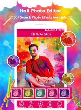 Holi Photo Editor screenshot 1