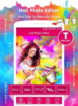 Holi Photo Editor screenshot 2