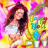 Holi Photo Frame 2018 icon