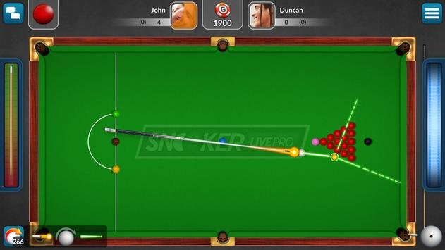 Snooker Live Pro & Six-red poster