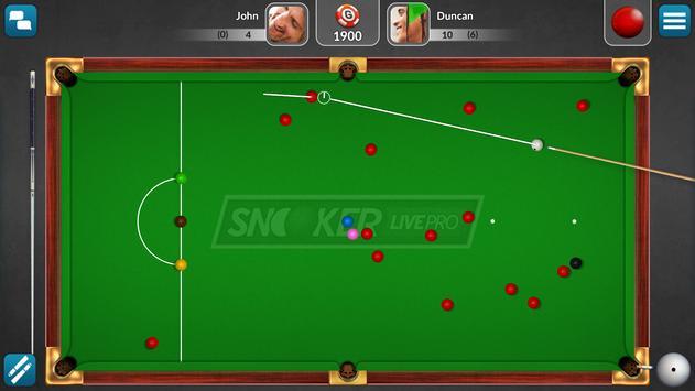 Snooker Live Pro: jogos grátis imagem de tela 10