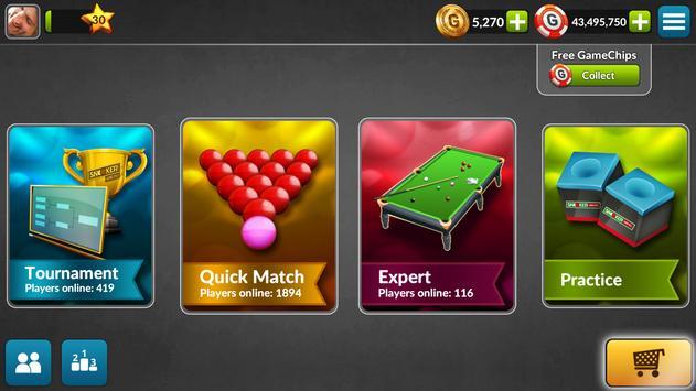 Snooker Live Pro: jogos grátis imagem de tela 1
