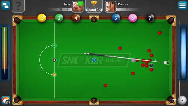 Snooker Live Pro: jogos grátis imagem de tela 2