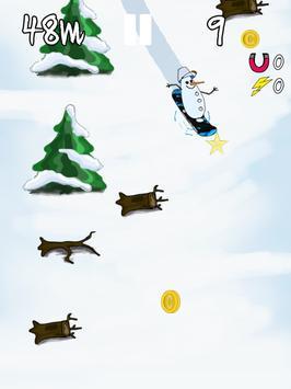 Fantasy Mountain-Snowboarding poster