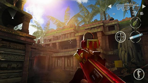 火線出擊 Online: 戰爭遊戲 射擊遊戲網絡遊戲 apk 截圖