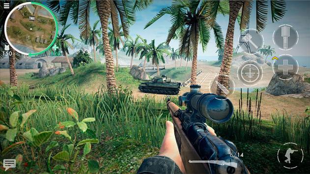 《世界战争 - 英雄》:第一人称二战射击游戏! apk 截图