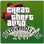 Cheat:for GTA San Andreas 2017 icon