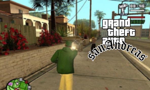 Cheat:for GTA San Andreas 2017 apk screenshot