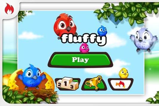 Fluffy Birds FREE poster