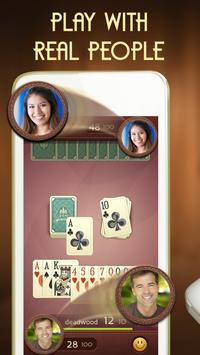 Grand Gin Rummy - Free Card Game With Real People poster