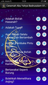 Ceramah Abu Yahya Badrusalam Offline screenshot 1