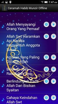 Ceramah Habib Munzir Offline screenshot 1