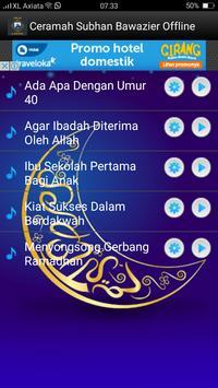Ceramah Subhan Bawazier Offline screenshot 1