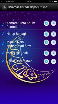 Ceramah Ustadz Cepot Offline screenshot 1