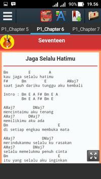 Chord Keyboard Seventeen Jaga Selalu Hatimu