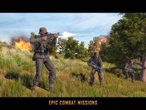 WW2 US Army Commando Survival Battlegrounds स्क्रीनशॉट 16