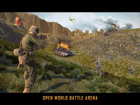 WW2 US Army Commando Survival Battlegrounds स्क्रीनशॉट 17