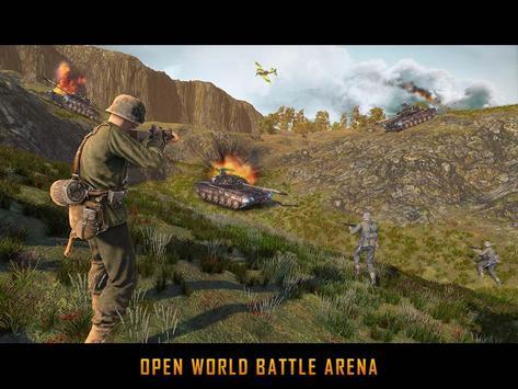 WW2 US Army Commando Survival Battlegrounds स्क्रीनशॉट 11