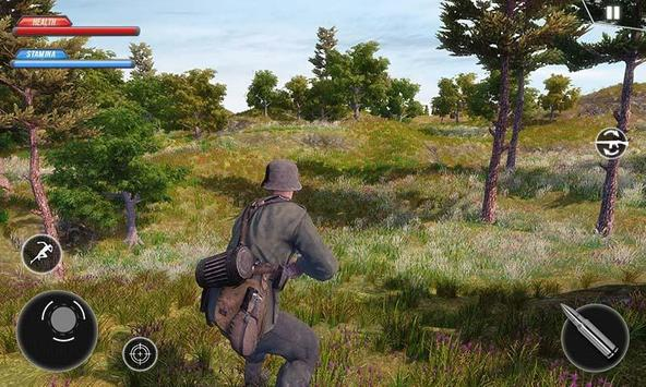 WW2 US Army Commando Survival Battlegrounds स्क्रीनशॉट 1