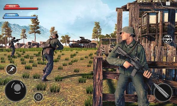WW2 US Army Commando Survival Battlegrounds स्क्रीनशॉट 2