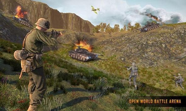 WW2 US Army Commando Survival Battlegrounds स्क्रीनशॉट 5