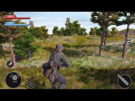 WW2 US Army Commando Survival Battlegrounds स्क्रीनशॉट 7
