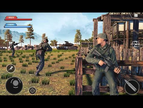 WW2 US Army Commando Survival Battlegrounds स्क्रीनशॉट 8