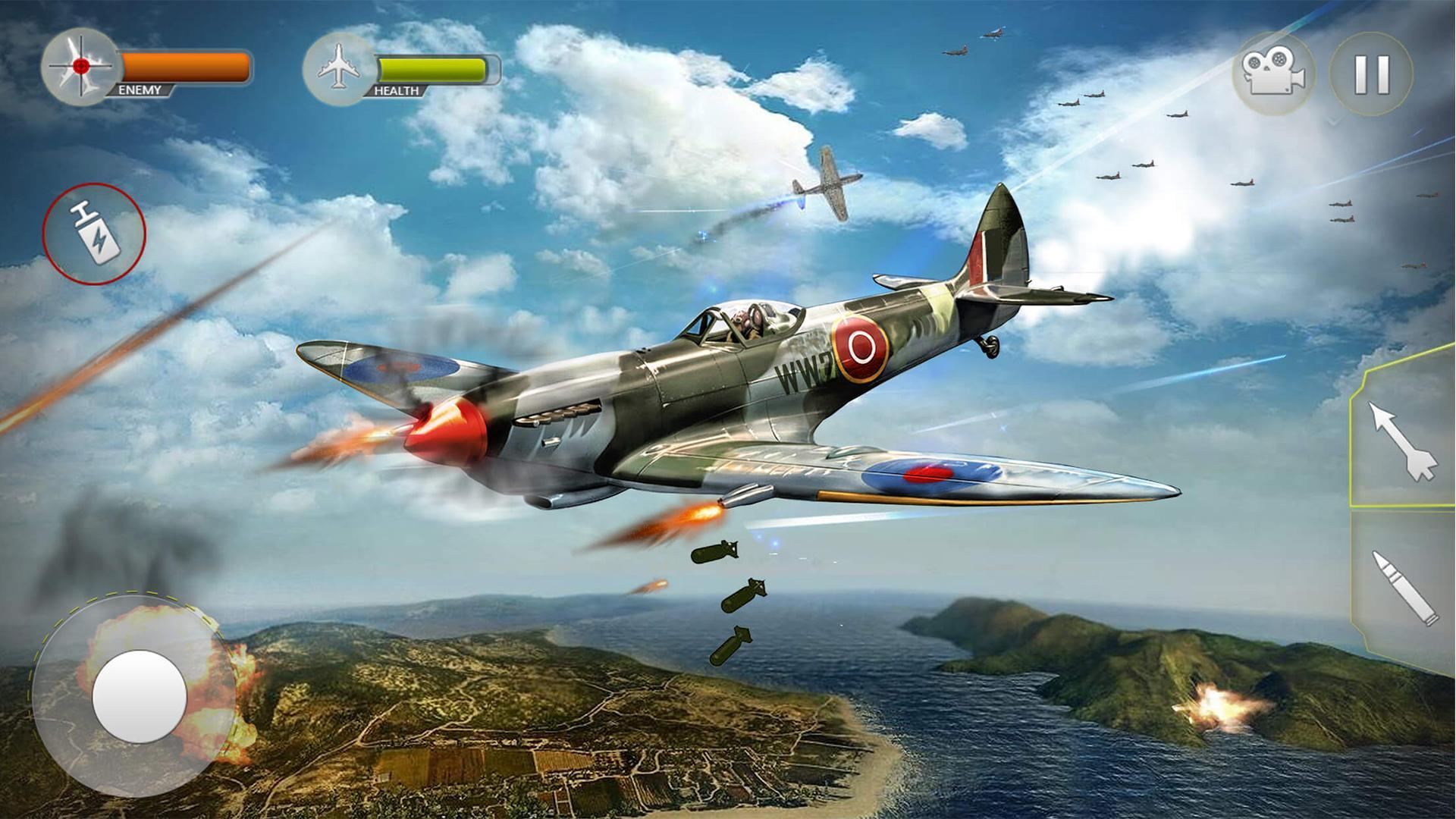 Plane Fighting Games >> Airplane Fighting War Air Shooting Games For Android Apk Download
