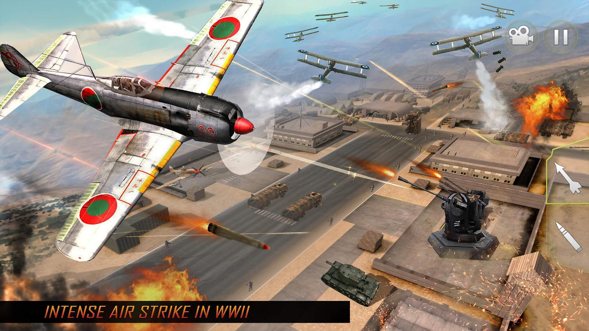 Airplane Fighting War Air Shooting Games For Android Apk