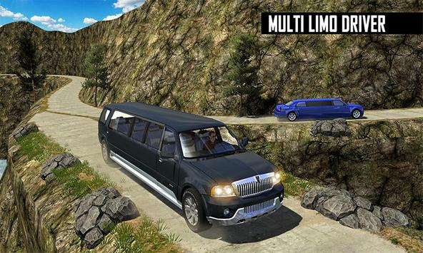 Big City Limo Car Driving screenshot 1