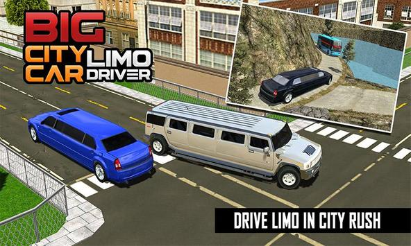 Big City Limo Car Driving screenshot 5