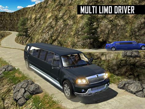 Big City Limo Car Driving screenshot 7