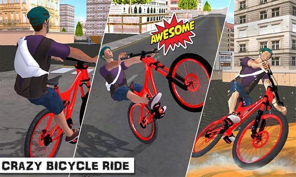 City Bicycle Rider 2017 screenshot 1
