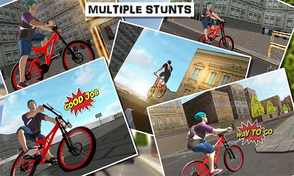 City Bicycle Rider 2017 screenshot 3